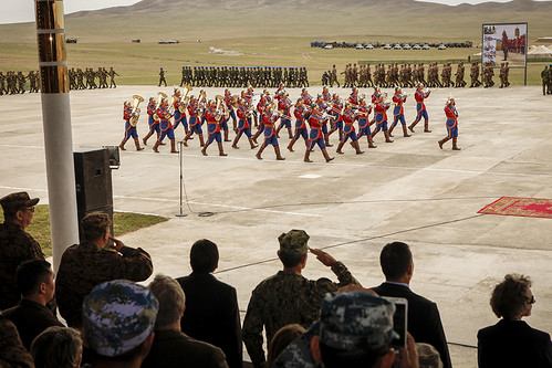 Exercise Khaan Quest Opening Ceremony in Mongolia