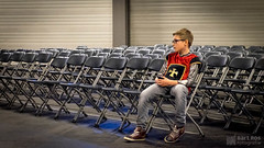 Forever alone (Bart Ros) Tags: alone fuji dof child chairs cosplay conventions