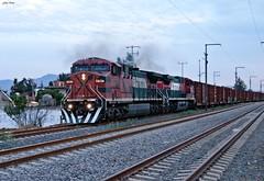 RMXTO (Artefacto27) Tags: train tren railway locomotive ge mexicano ferrocarril fxe ferromex ac44cw ferrocarrilmexicano grupomexico