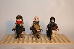 SAF. Special Assigenment Force (kenneth nielsen a.k.a Qenhyt) Tags: soldier army force lego military special minifig custom camoflage weapons saf brickarms assigenment