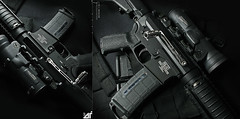 Side Charging AR15 (Threedi) Tags: pull side rifle straight charger ar15 specter elcan