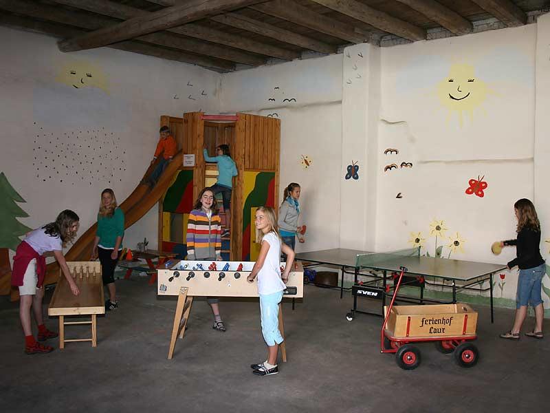 Ferienhof Laux - Spielscheune