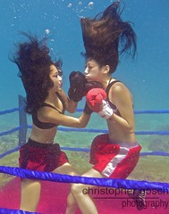 UW-ChineseBoxing 11 (steadichris) Tags: underwater models chinese scuba lingerie cebu boxing breathhold
