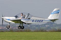 G-CDEP (johnmorris13) Tags: eurostar comptonabbas ev97 egha cosmikaviation gcdep