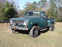 014 (stevenbr549) Tags: green truck 1974 4x4 4wd pickup international 1975 1976