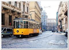 Milan Tram (megan zjh) Tags: italy milan tram streetphoto lp2011winners