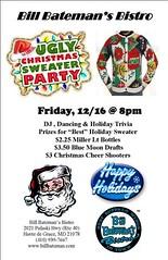 Holiday Party (Medium) (BillBatemansHDG) Tags: party restaurant dj dancing maryland baltimore bistro holidayparty christmasparty santaclause happyholidays havredegrace billbatemans