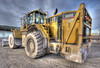 Caterpillar 988G (elementalPaul) Tags: plant yellow pentax tripod hdr sigma1020mm heavyplant wheelloader photomatixpro 5xp k10d pentaxk10d 988g cat988g caterpillar988g