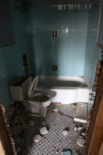 Another tiled bathroom in the club house