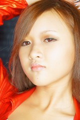 DSC00068 (rickytanghkg) Tags: portrait woman hot sexy girl studio asian sweet chinese young picnik