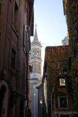 "vicolo della Volpe & campanile di Santa Maria della Pace • <a style=""font-size:0.8em;"" href=""http://www.flickr.com/photos/89679026@N00/6481960811/"" target=""_blank"">View on Flickr</a>"