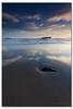 Simplicity at Fingal (danishpm) Tags: ocean reflection rock clouds sunrise canon seascapes australia nsw aussie aus manfrotto sigmalens cookisland northernnsw eos450d fingalheads 450d sorenmartensen hitechgradfilters 09ndreversegradfilter