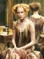 Retrato (zubillaga61) Tags: portrait painterly mujer women retrato retouch corelpainter retoque ewanrachelwood