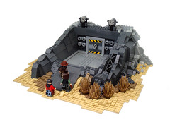 Fallout 3 : Raven Rock ([N]atsty) Tags: 3 make rock dark lego thing apocalypse tan it mc more add 100 ba minifig raven extra because fallout minifigure apoc not brickarms minifigcat acturate deailed