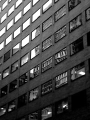 reflections & ruminations (damonabnormal) Tags: street city windows light urban blackandwhite bw reflection philadelphia glass mirror december fuji shadows streetphotography pa philly phl fujinon 215 x10 urbanite 2011 urbanreflections fujix10