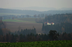 Vysoina hills (Gregor  Samsa) Tags: autumn mist misty fog highlands silent view czech foggy silence czechrepublic melancholy overlook melancholic vysoina esko eskrepublika vysocina vrchovina ceskomoravska czechmoravian eskomoravskvrchovina ceskomoravskavrchovina czechmoravianhighlands
