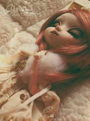 Pullip Custom - Ready to go! (Kikyô) Tags: pullip doll dal obitsu custom custo fullcusto rust rousse taches de rousseurs freackles her bag sleeping france poupée cute divers art