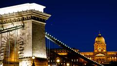 Esthajnalcsillag / Evening Star (malark_) Tags: city nightphotography bridge sky castle architecture night star hungary nikond70 danube bluecolor bluenightsky nikonphotography cloudsstormssunsetssunrises