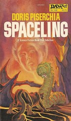 Doris Piserchia - Spaceling (DAW 1978) (horzel) Tags: sciencefiction bookcover daw georgebarr dawbooks dorispiserchia