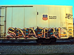 SNAFU (whos the master) Tags: train graffiti etc axel suite reefer snafu armn asic