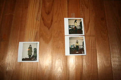 Polaroid photos of unknown female