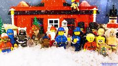 Day 357 (chrisofpie) Tags: chris pie monkey lego doug legos hero heroes minifig roger minifigure bluehat legohero chrisofpie rogeranddoug 365legos dougthechimp