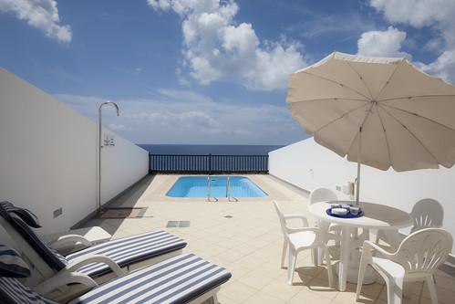 Sea View 22 a 3 Bedroom, villa with private pool and Internet. Located in Puerto Calero, Canary Islands Lanzarote, Villa Holiday Rental