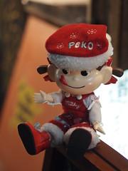 ペコちゃんサンタ (がじゅ) Tags: 渋谷 散歩 クリスマス イルミネーション epl2