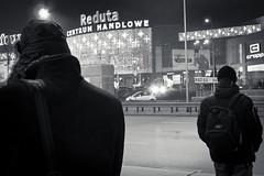 (vito72) Tags: christmas street winter night lumix blackwhite poland polska panasonic peoples warsaw warszawa reduta lx5 centrumhandlowe vitotammone vito72 commercialcentres