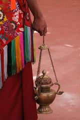 tibetan lamp (rongpuk) Tags: people india mountains lamp festival monastery monks tibetan himalaya childs tak ladakh gompa dances thok