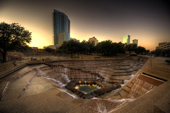 Fort Worth Water Garden (Nikon-Spence) Tags: water garden nikon fort worth nikkor hdr photomatix d700 1424mm