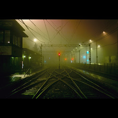Day Three Hundred and Twenty-eight (ODPictures Art Studio LTD - Hungary) Tags: station fog night 35mm canon eos hungary december budapest rer hungarian magyarország köd bkv 2011 éjszaka éjjel hév 60d cinkota állomás orbandomonkoshu