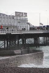 Brighton Pier (ickoonite) Tags: pier brighton waves groyne