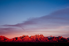 Los Cruces (glasshalffull91) Tags: new eve light sunset shadow mountain mountains color colour last 35mm canon mexico eos evening photo los nikon desert angle 4 wide organ filter photograph e gradient vista series years nikkor cruces f25 3525 cpl density 500d 2011 polorizing polorizer nd4 nutral 2535 sirra f25e t1i