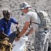 Civil Affairs Soldiers assist Eco-Dome building in Djibouti