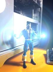 Black Lightning! (misterperturbed) Tags: lensflare dccomics blacklightning justiceleagueofamerica jla theoutsiders dcdirect iphoneography
