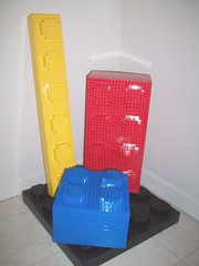 Four 10x Bricks (PurpleSprout458) Tags: scale lego 4x4 bricks plate blocks 2x4 moc 2x2 10x 1x6