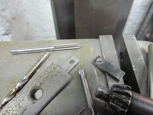 making stainless rack mounting parts