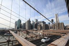Leaving Manhattan (mojorider2) Tags: newyorkcity brookylnbridge