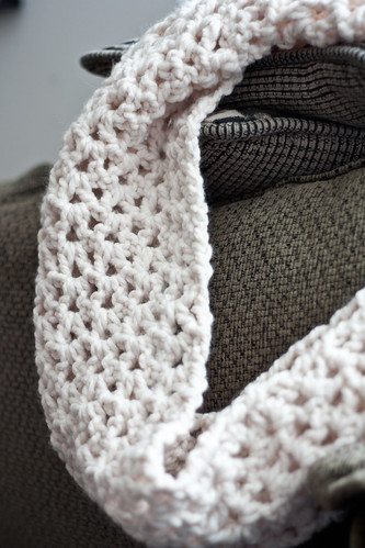 Crafty Tutorial Super Chunky Crocheted Infinity Scarf Free Pattern