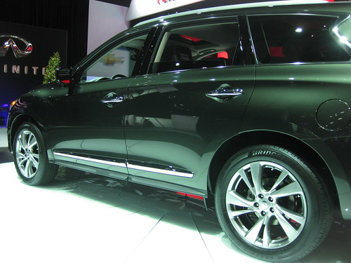 Infiniti JX at NAIAS 2012
