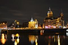 Amsterdam by Night (Jan.vd.Vlugt) Tags: amsterdam by night nikon 18105 nicolaaskerk d5100 mostbeautifulpictureihaveeverseeninmylife