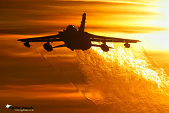 "Panavia Tornado GR4 RAF Marham sunset ""Explore"" (Nigel Blake, 2 million views Thankyou!) Tags: sunset canon photography flying is fighter aircraft aviation military flight jet blake tornado nigel f4 raf mkiii eos1ds panavia gr4 600mm marham"