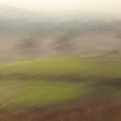 Fields (Pete Clark Landscape) Tags: camera england abstract walking photography movement sandstone cheshire hill trail clark pete icm intentional bickerton