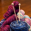 One of my passions is knitting (YvonneKnitsKnots) Tags: knitting yarn needles day18 week03 180112 project3662012 52of2012 18jan12 112of2012 101soft