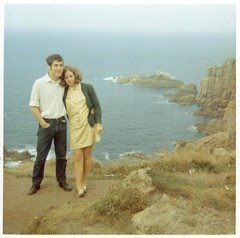 Mum and Dad - Cornwall - 1960s (TempusVolat) Tags: old boy sea cliff woman man cute male film girl beautiful beauty fashion shirt lady female vintage cool interesting 60s couple rocks flickr pretty cornwall dad jean legs image scanner young mother picture style scan retro mum edge trendy attractive scanned getty epson 1960s swinging hip scanning gw groovy gareth cardigan goodlooking sixties perfection happening stylish cardy tempus womenarebeautiful v200 verypretty epsonscanner swingingsixties verybeautiful 60sfashion sixtiesfashion epsonv200 volat mrmorodo garethwonfor tempusvolat