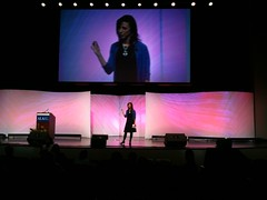 Susan Cain theatre session