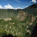 Vista di Machu Picchu dall'Intipunku