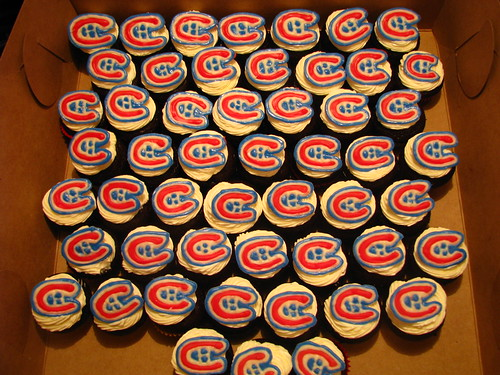 Montreal Canadiens mini cupcakes