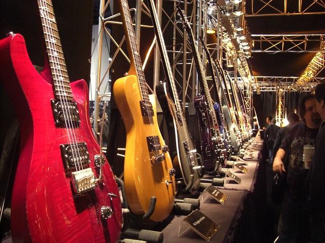 Guitars at NAMM 2012